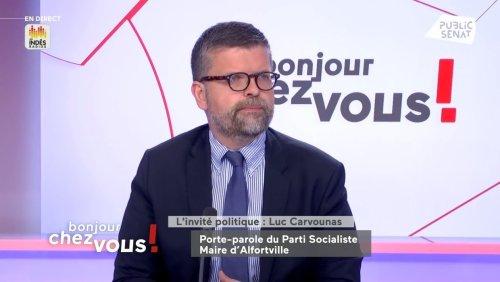« Le gouvernement se prépare à dire aux Français qu'ils peuvent ne plus porter le masque », assure Luc Carvounas