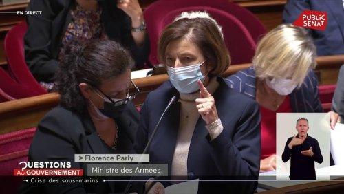 Crise des sous-marins : Florence Parly provoque une bronca au Sénat