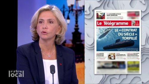 Affaire des sous-marins : Pécresse évoque la « remise en cause » de nos alliances militaires avec les Etats-Unis et la Grande-Bretagne