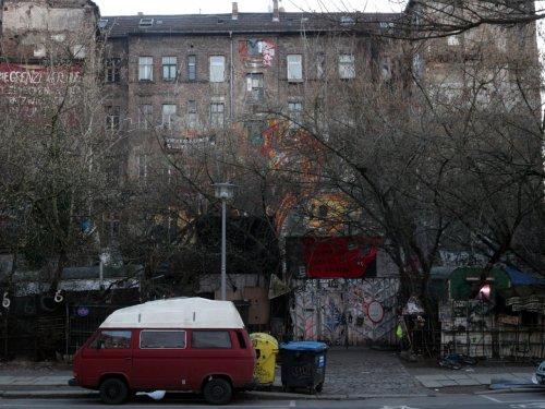 "Randale vor Räumung von ""Köpi"" in Berlin-Kreuzberg"