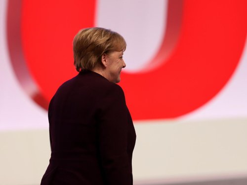Politikkollegen zollen Merkel Respekt zum Abschied