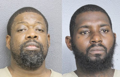 """Broward Detectives Arrest Two Suspected """"Bank Juggers"""" In Hollywood Florida; Suspects Followed Bank Customers To Commit Burglaries"""