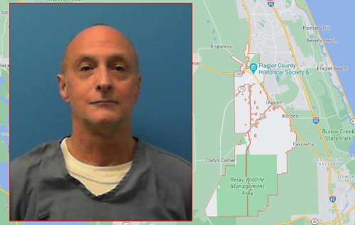 Flagler County Sheriff's Office Notifies Public of New Sexual Predator Resident Residing on North State Street in Bunnell