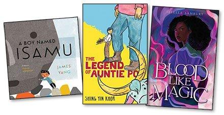 New Kids' and YA Books: Week of June 14, 2021