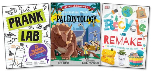 Spring 2021 STEM and STEAM Activity Books for Kids and Teens
