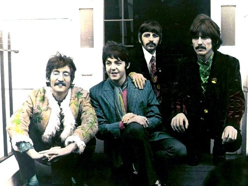 Flashback: The Beatles Record 'With A Little Help From My Friends'