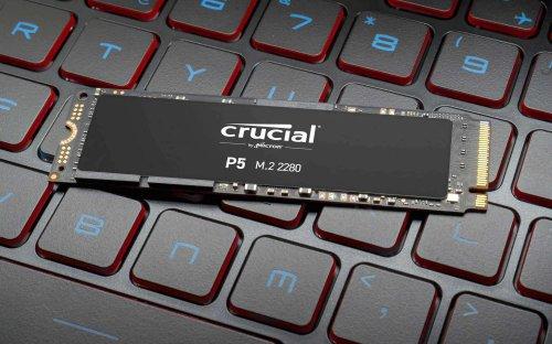 SSD Crucial P5 (500 GB): PREZZO al MINIMO storico