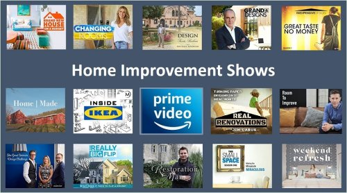 Home Design & Improvement Shows on Amazon Prime: May 2021