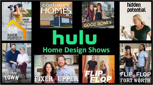 Home Design & Improvement Shows on Hulu: May 2021