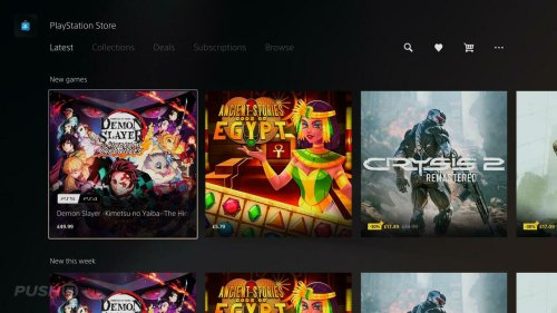 PS5 PS Store Now Shows Latest Games in New Section