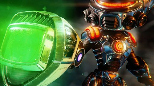 Ratchet & Clank: Rift Apart's Pixelizer HD Plays a Funky Melody with PS5 Pad's Haptics