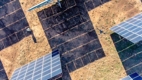 Drones, robots, and AI are changing the face of solar and wind farm inspections, literally