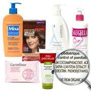 Substances toxiques dans les cosmétiques