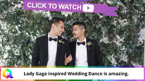 Lady Gaga inspired Wedding Dance is amazing.