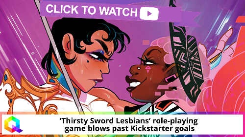 'Thirsty Sword Lesbians' role-playing game blows past Kickstarter goals