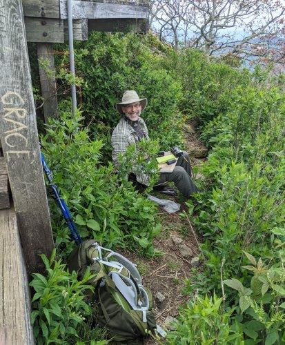 An amazing SOTA activation on Mount Pisgah (W4C/CM-011)
