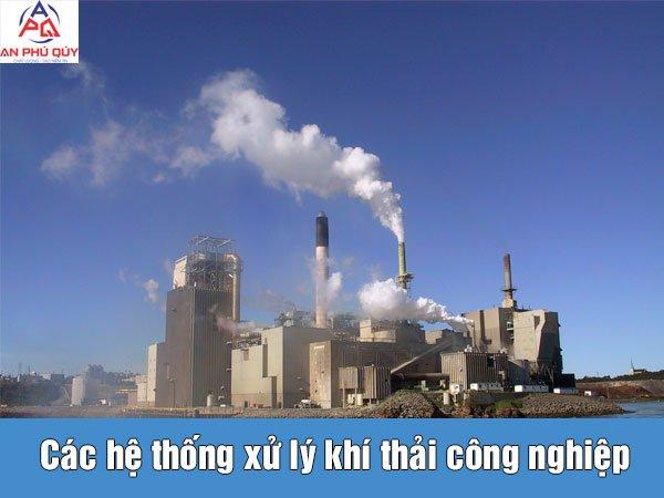 Các hệ thống xử lý khí thải công nghiệp - cover