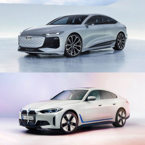 Photo Comparison: BMW i4 vs Audi A6 e-tron Concept