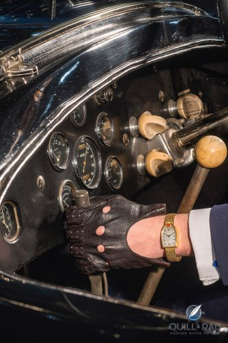 Personal Wristwatch Of Bugatti Founder Ettore Bugatti: Made By Mido And Now Up For Auction