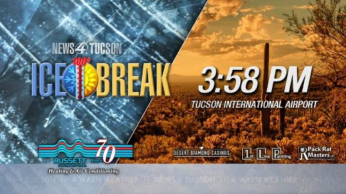 Tucson breaks the ice after airport records first 100-degree day