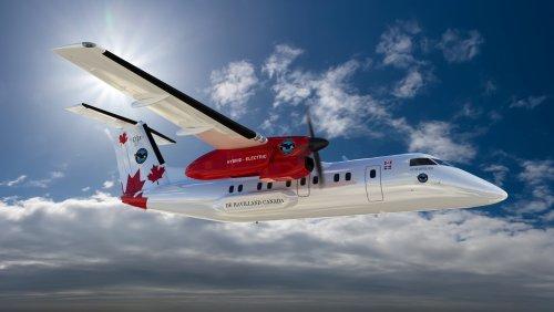 Pratt & Whitney con De Havilland per l'aereo ibrido elettrico