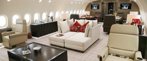 Le immagini del Boeing 787 super lusso per i nababbi cinesi