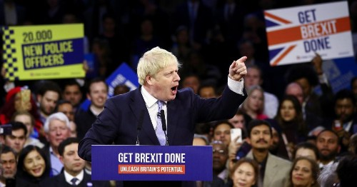 Boris Johnson's Conservative Party is on track to triumph in the UK's general election