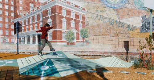 The urban design project sneaking puzzles and hopscotch into abandoned lots