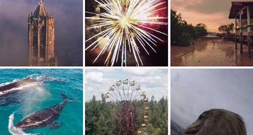 The 17 best drone videos that gave a whole new perspective to 2014