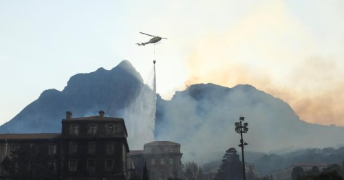 Africa has lost a part of its history in the Cape Town fires