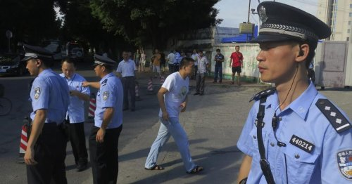 One of the world's most popular iOS apps right now was developed by Chinese police