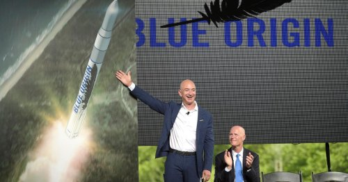 What is slowing down Jeff Bezos' enormous rocket?