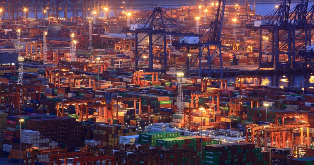 A shipping container shortage is snarling global trade