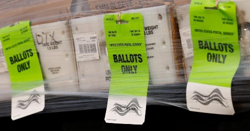 What happens to absentee ballots after you mail them?