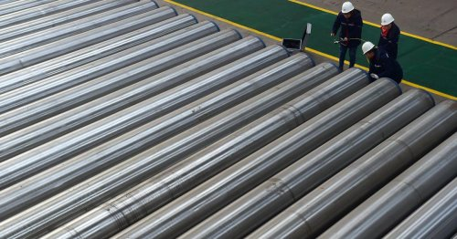 Why are steel prices so high when iron ore prices have crashed? Because: China