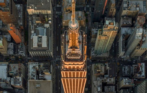 Photos: New York and Los Angeles as seen from the sky