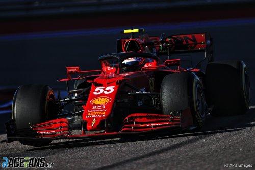 Sainz gets upgraded Ferrari engine soon, customers must wait · RaceFans