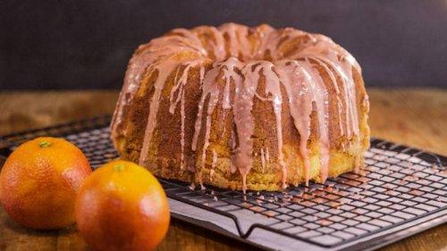 Blood-Orange Mimosa Cake