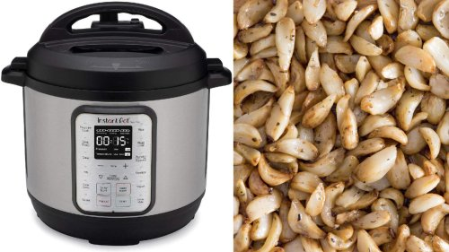 "Make ""Roasted"" Garlic In HALF The Time With This Instant Pot Recipe"