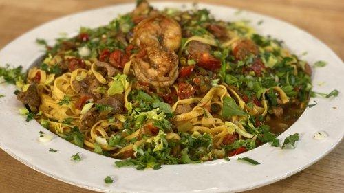 Go Cajun With Rach's Spicy Jambalaya Pasta