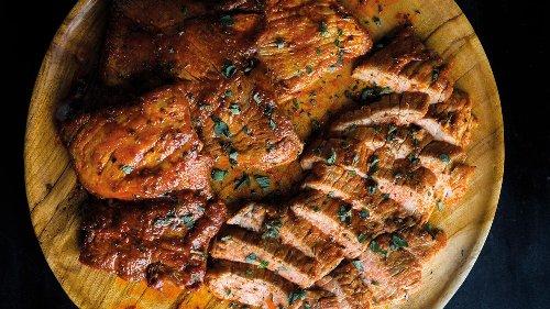 How To Make Seared Pork Tenderloin with Smoked Paprika and Oregano | Tuesday Nights Mediterranean