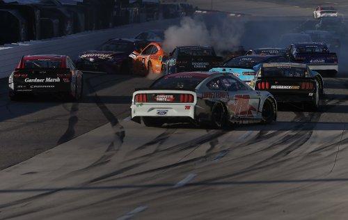 NASCAR crash at Martinsville collects 15 cars; Drama continues into week