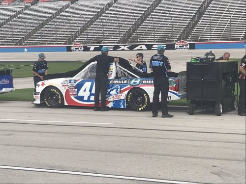 Ross Chastain disqualified after Texas Motor Speedway