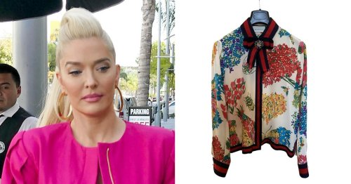 'Real Housewives Of Beverly Hills' Star Erika Jayne's Expensive Designer Clothes Worn On Show Being Sold Off Online Amid Financial Woes