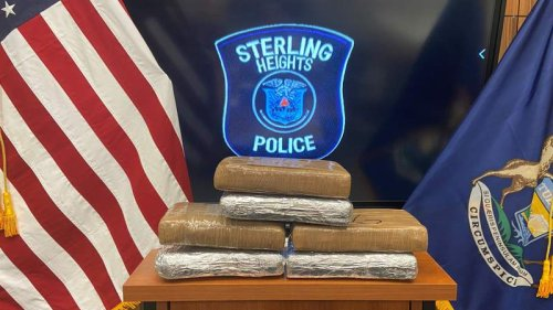 Sterling Heights police discover 6 kilos of cocaine during routine traffic stop