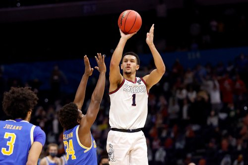 NBA prospect Jalen Suggs: No doubt I could've become a first-round NFL Draft pick