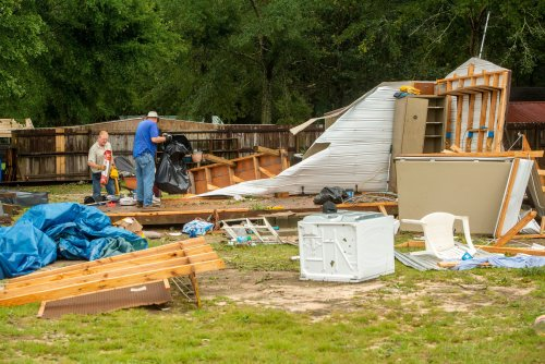 WATCH: Tropical Depression Claudette causes floods and destruction throughout Deep South