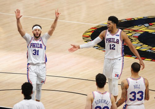 Sixers, anchored by Seth Curry's 3-point barrage, fend off Hawks, force Game 7