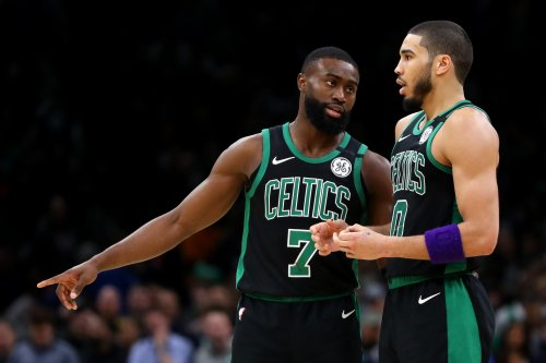 Goodman: Tatum and Brown look like they've never played together before, aren't 'buddies'