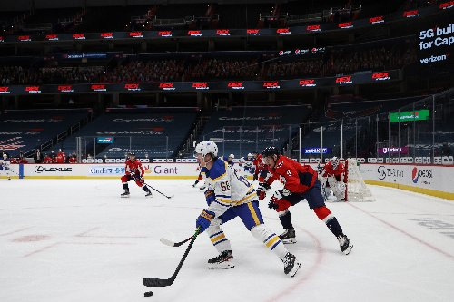 Sabres look to close out season series with Capitals on high note
